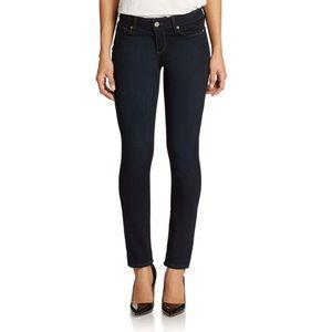Paige Skyline Skinny Jeans Dark Wash